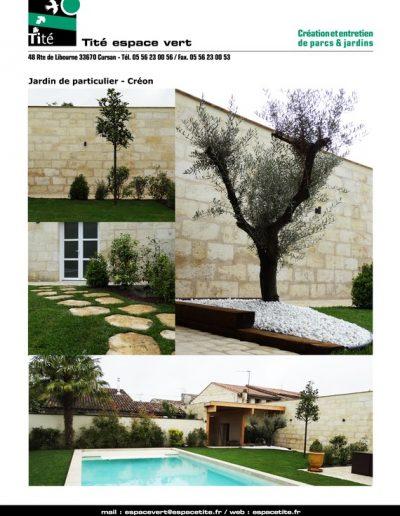 Jardin de particulier - Créon