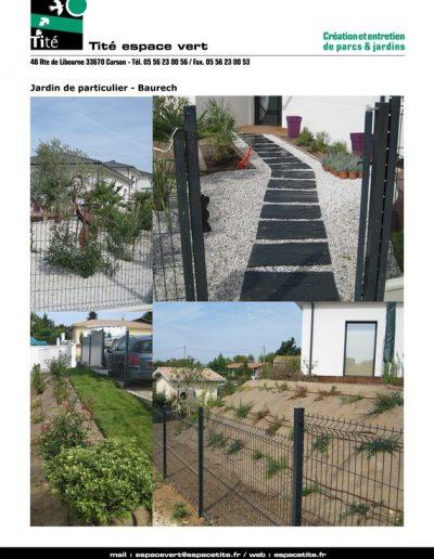 Jardin de particulier - Baurech