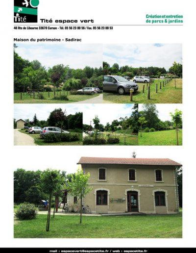 Maison du patrimoine - Sadirac